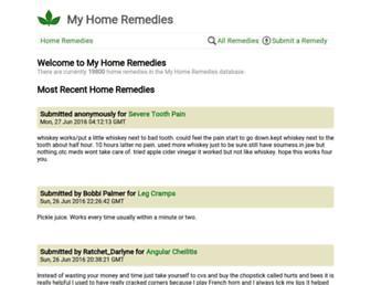 Thumbshot of Myhomeremedies.com