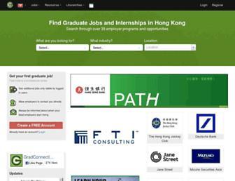 hk.gradconnection.com screenshot