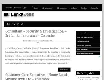 srilanka.newjobvacancies.org screenshot
