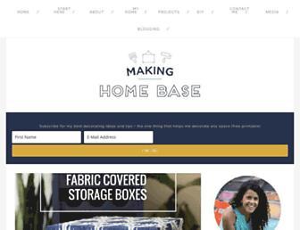 Thumbshot of Makinghomebase.com