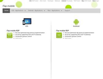 itap-mobile.com screenshot