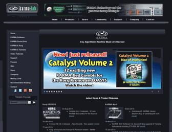 karma-lab.com screenshot