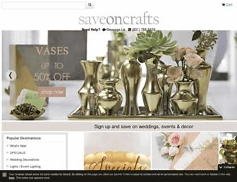 Thumbshot of Save-on-crafts.com