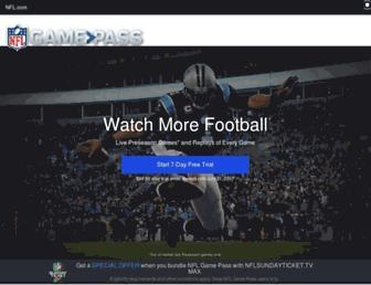 gamepass.nfl.com screenshot