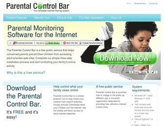 Thumbshot of Parentalcontrolbar.org