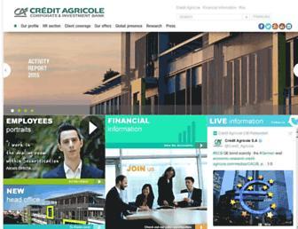 ca-cib.com screenshot