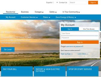 Thumbshot of Pge.com