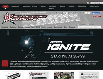 Thumbshot of Rigidindustries.com