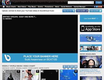 beat100.com screenshot