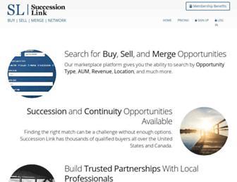 successionlink.com screenshot