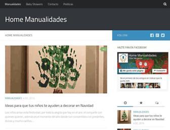 manualidadesconmoldes.com screenshot