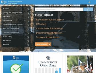 portal.ct.gov screenshot