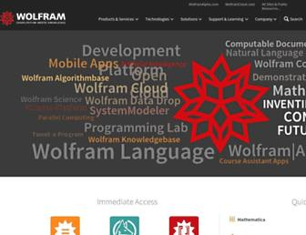 Thumbshot of Wolfram.com