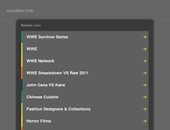 Thumbshot of Wrestletv.info