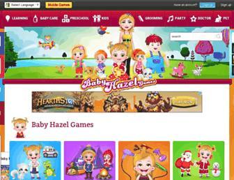 babyhazelgames.com screenshot