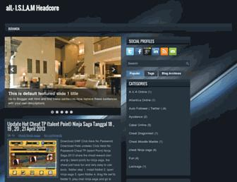 all-headcore.blogspot.com screenshot