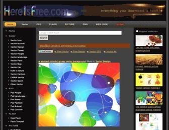 Thumbshot of Hereisfree.com