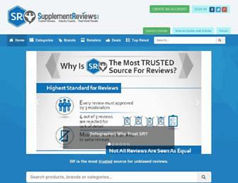Thumbshot of Supplementreviews.com