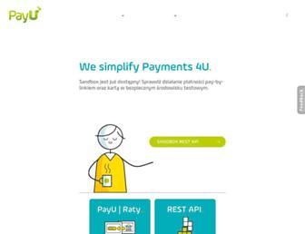 developers.payu.com screenshot