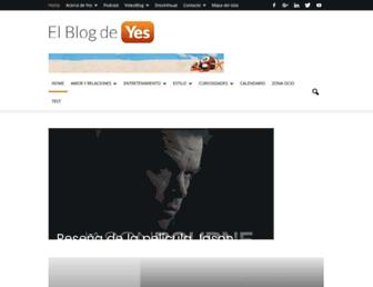 elblogdeyes.com screenshot