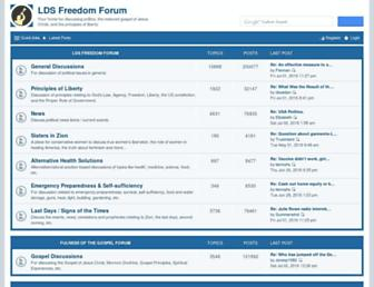 Thumbshot of Ldsfreedomforum.com