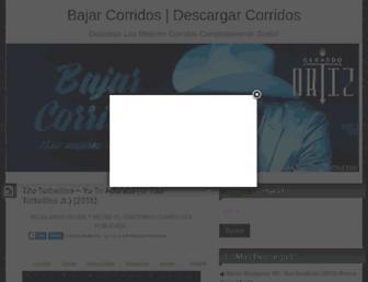 bajarcorridos.com screenshot