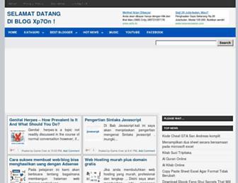 xp7on.blogspot.com screenshot