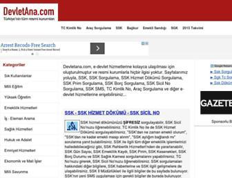 Thumbshot of Devletana.com