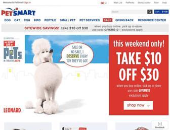 Thumbshot of Petsmart.ca