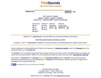 findsounds.com screenshot