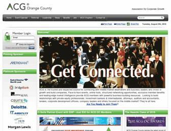 acgoc.org screenshot