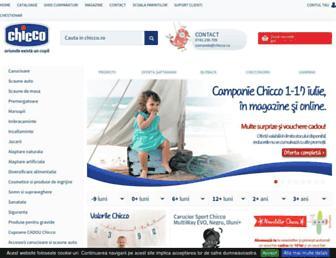 chicco.ro screenshot