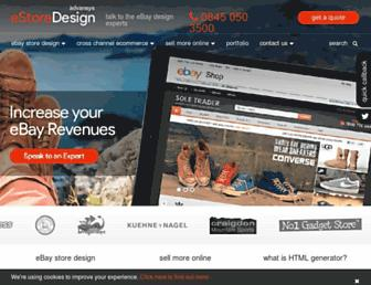 Thumbshot of E-store-design.co.uk