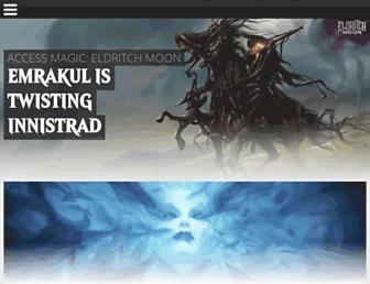 magic.wizards.com screenshot