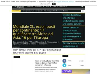 calcioefinanza.it screenshot