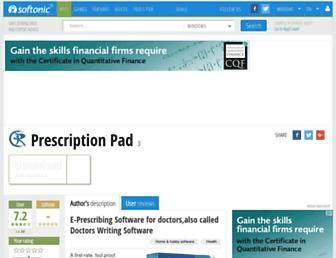 prescription-pad.en.softonic.com screenshot
