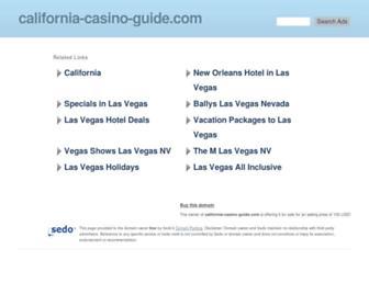 Thumbshot of California-casino-guide.com