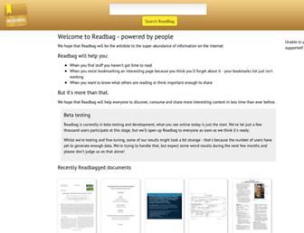 readbag.com screenshot