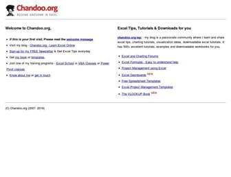 Thumbshot of Chandoo.org