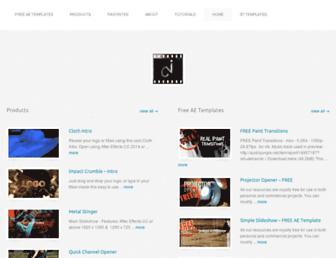 coolvideointro.com screenshot