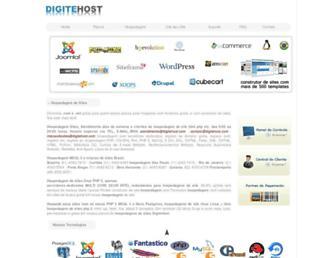 digitehost.net.br screenshot