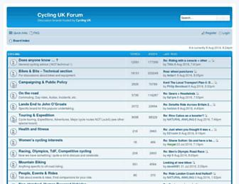 forum.cyclinguk.org screenshot