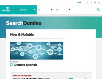 searchdomino.techtarget.com screenshot