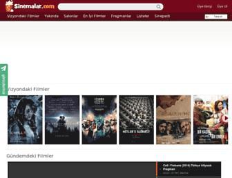 sinemalar.com screenshot