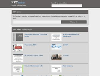 en.ppt-online.org screenshot