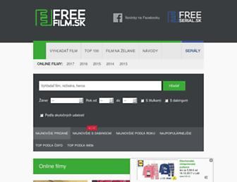 freefilm.sk screenshot