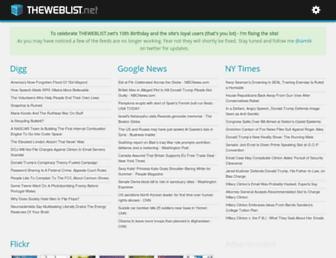 Thumbshot of Theweblist.net