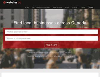 websites.ca screenshot