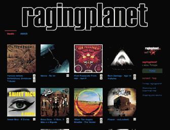 ragingplanet.bandcamp.com screenshot
