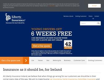 Thumbshot of Libertyinsurance.ie